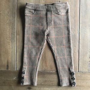 Ralph Lauren brown plaid pants 2T